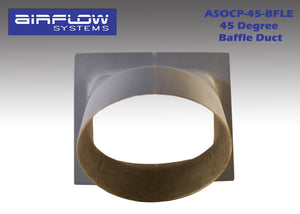 "ASOCP-45-BFLE (45 degree, 4"") Baffle Duct"