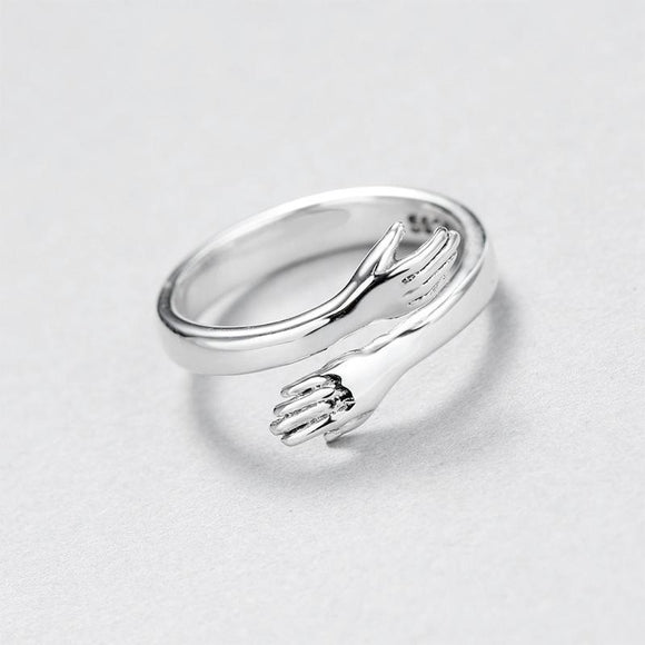 Sterling Silver Warm Hug Ring