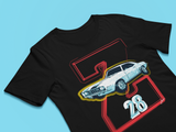 Muscle car t-shirt - Z28 Camaro Muscle Car T-shirt - Premium Camaro t-shirt design black