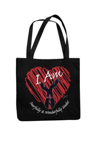 I Am Fearfully & Wonderfully Made Tote Bag