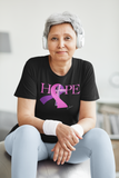 Breast Cancer t-shirt - Hope Breast Cancer T-shirt - Premium women t-shirt model