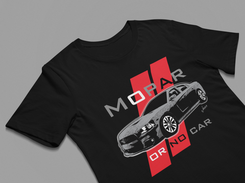Muscle car lover t-shirt - Charger Muscle Car T-shirt - Premium t-shirt black