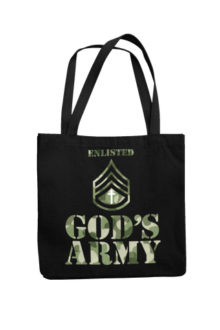 God's Army Tote Bag