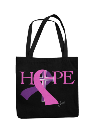 Hope Breast Cancer Tote Bag