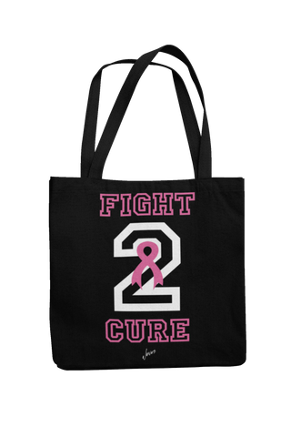 Fight 2 Cure Breast Cancer Tote Bag