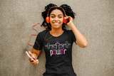 Girl Power Fitness T-shirt