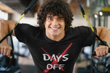 No Days Off Fitness T-shirt