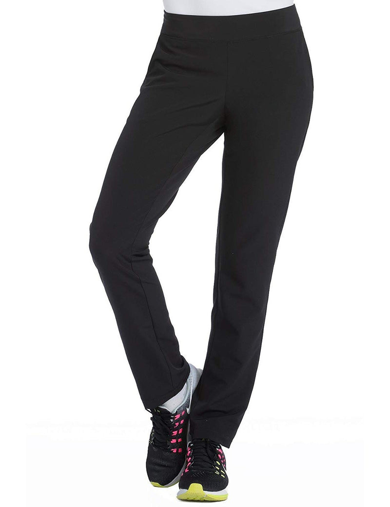 Med Couture 4-EVER Flex Women's Power Skinny Yoga Scrub Pant Black