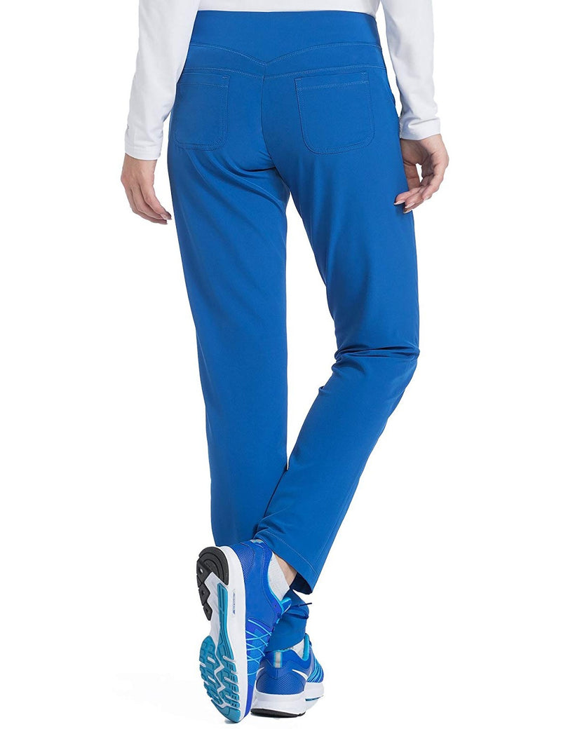 Med Couture 4-EVER Flex Women's Power Skinny Yoga Scrub Pant Royal