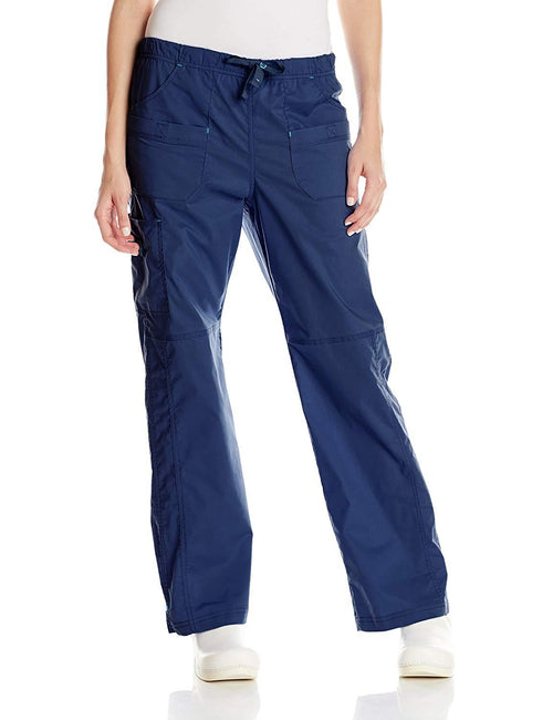 WonderWink Women's Wonderflex Faith Scrub Pant Navy