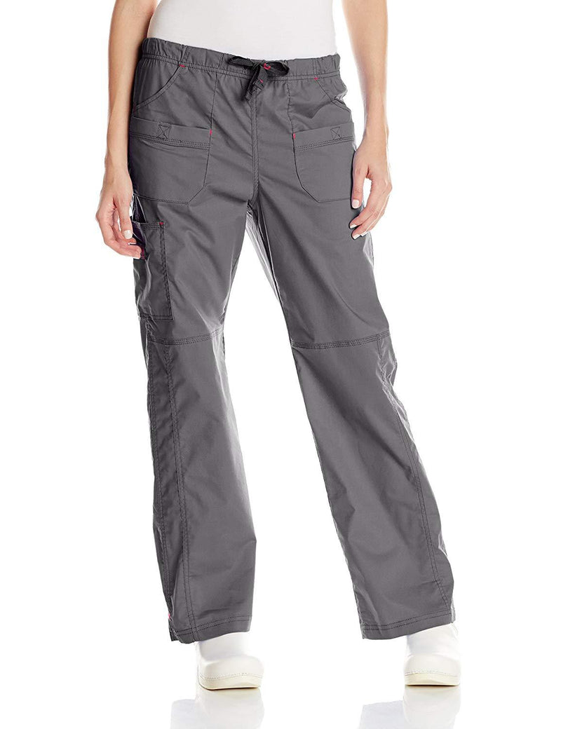 WonderWink Women's Wonderflex Faith Scrub Pant Grey