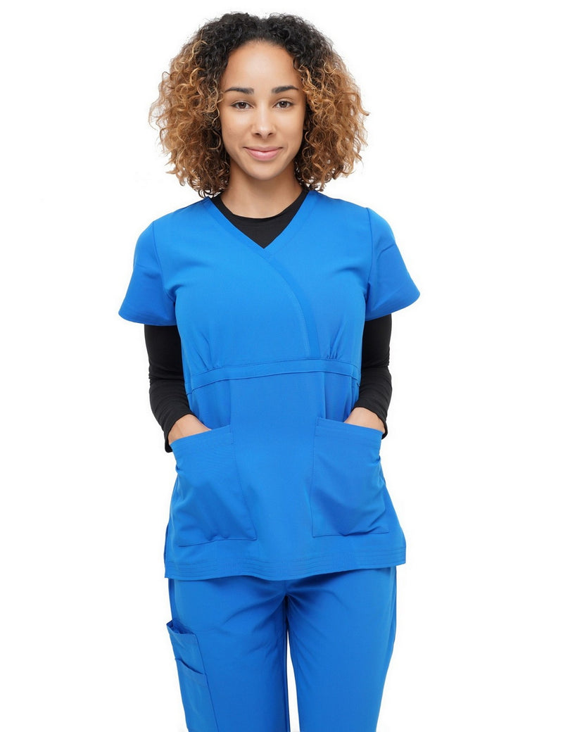 Excel Scrub Top Royal