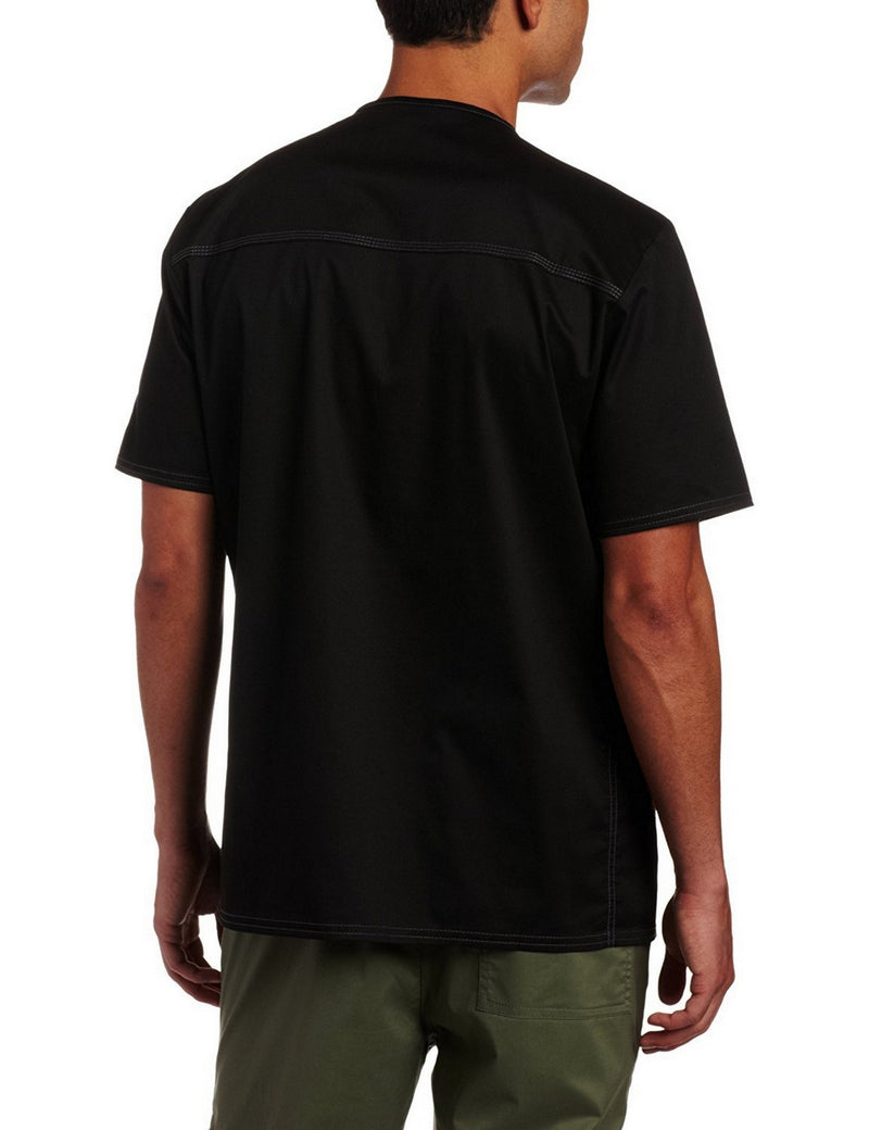 Dickies Generation Flex Men's Youtility Scrub Top Black