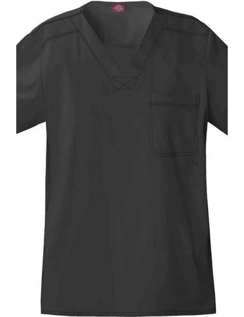 Dickies Generation Flex Men's Youtility Scrub Top Dark Pewter