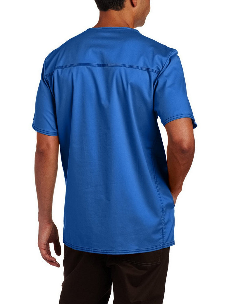 Dickies Generation Flex Men's Youtility Scrub Top Royal Blue