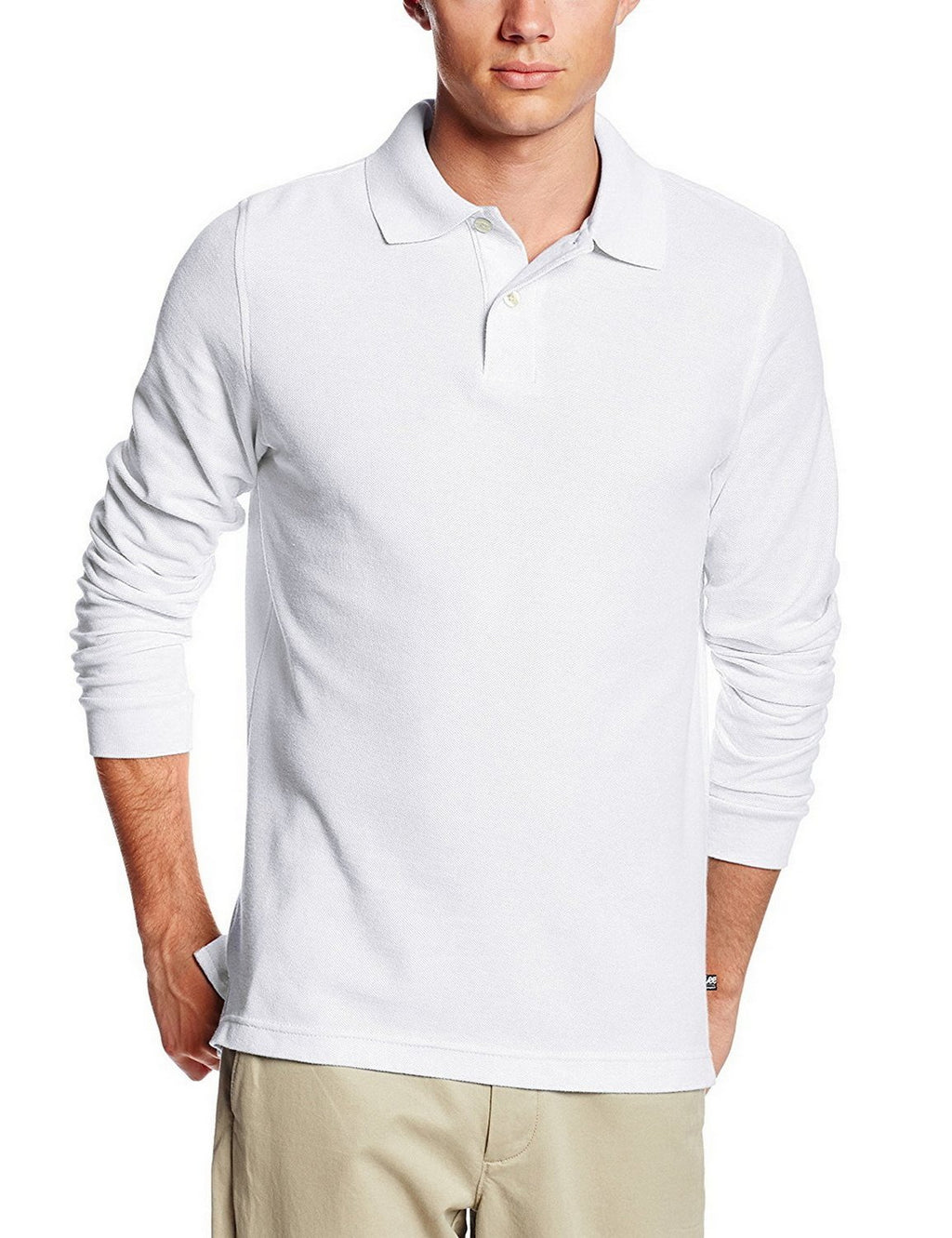 lee-uniforms-men's-modern-fit-long-sleeve-polo