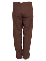 Lizzy-B Drawstring Scrub Pants Brown