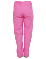Lizzy-B Drawstring Scrub Pants Hot Pink
