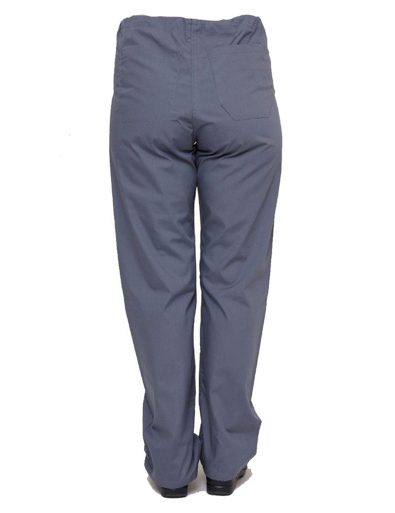 Lizzy-B Drawstring Scrub Pants Grey