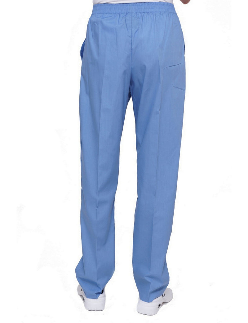 Lizzy-B Elastic Scrub Pants Light Blue