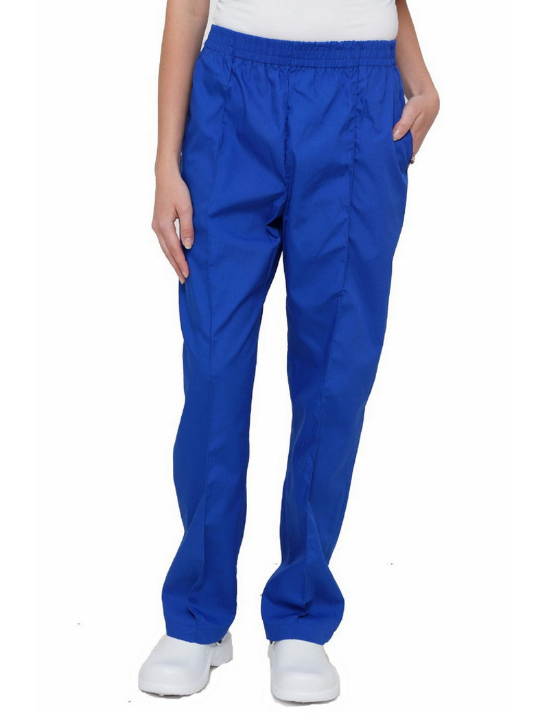Lizzy-B Elastic Scrub Pants Royal