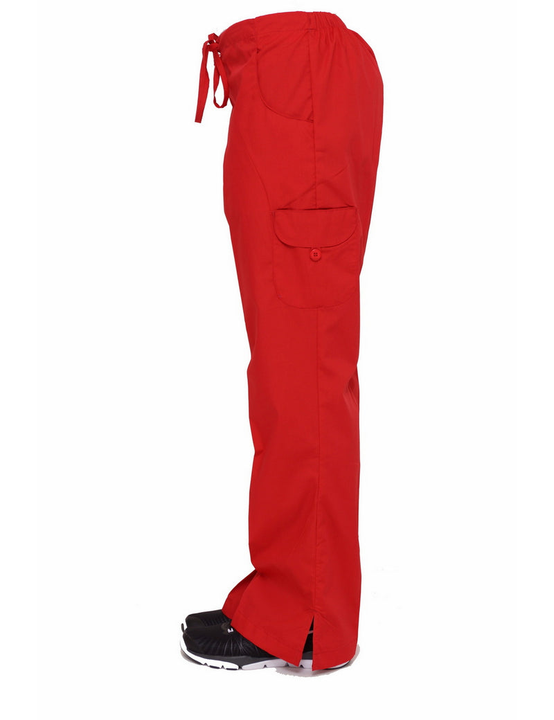 Lizzy-B Cargo Pants Red
