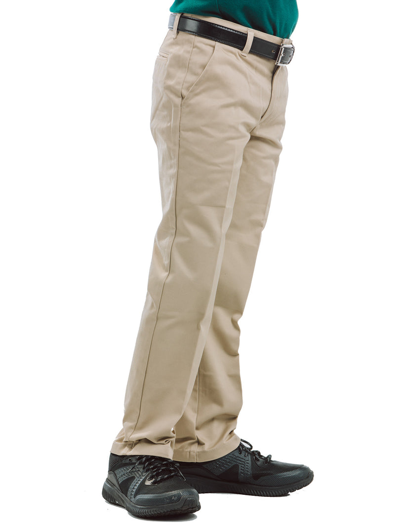 Lizzy-B School Uniform Boys Pants Khaki