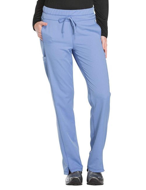 Dickies Dynamix DK130 Women's Drawstring Cargo Scrub Pant Light Blue