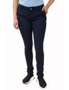 BHSC Uniform Girls' Mid Rise Stretch Super Skinny 5 pants Navy