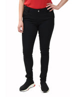 BHSC Uniform Girls' Mid Rise Stretch Super Skinny 5 pants Black