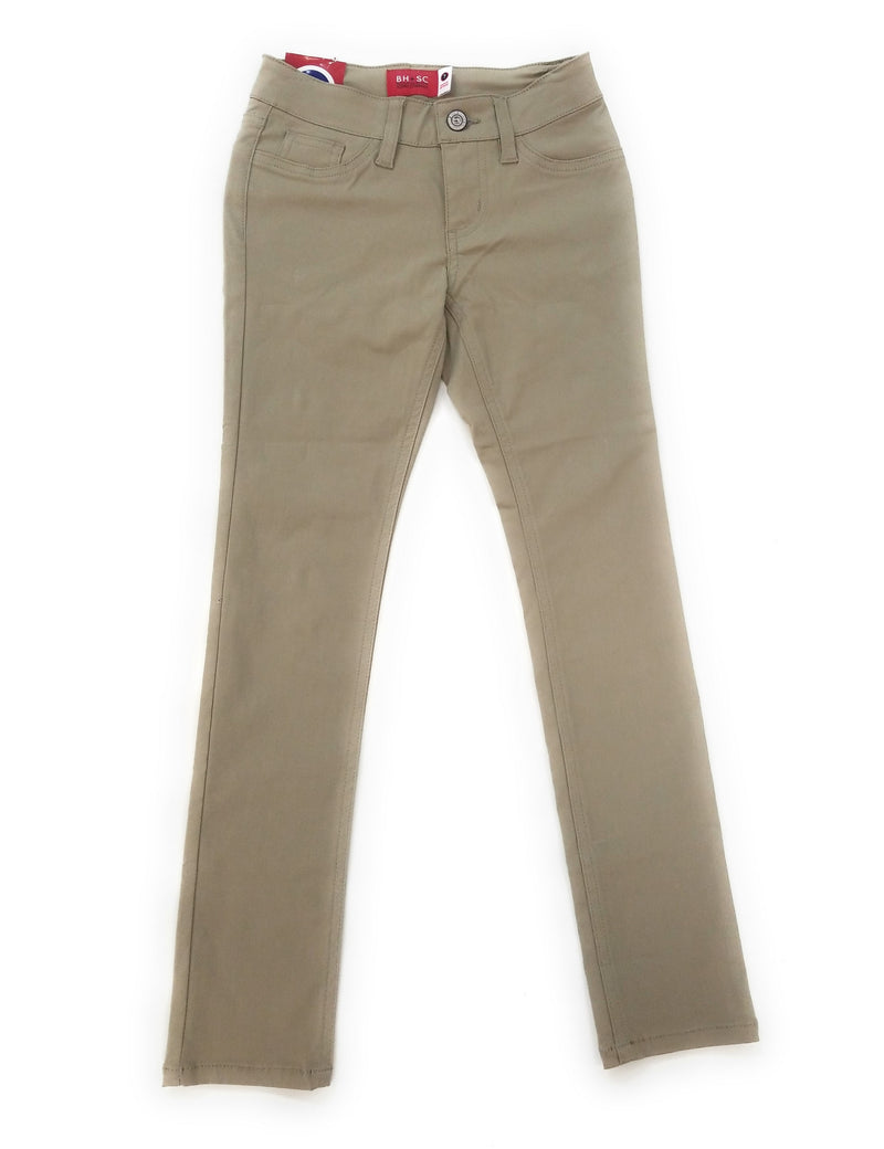 BHSC Uniform Junior Mid Rise Stretch Super Skinny 5 pants  Khaki