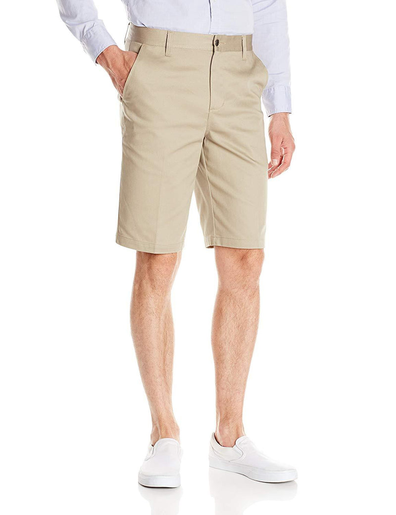 Lee Uniforms Men's Classic Stretch Short Khaki