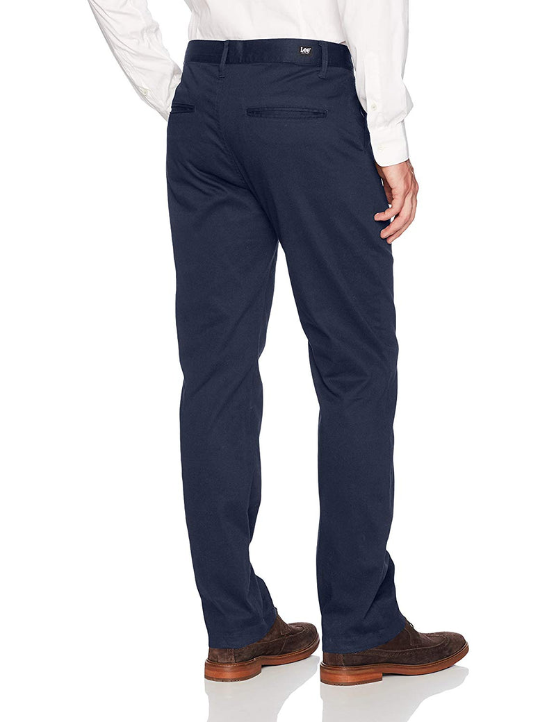 Lee Uniforms Men's Slim Stretch Pant Navy