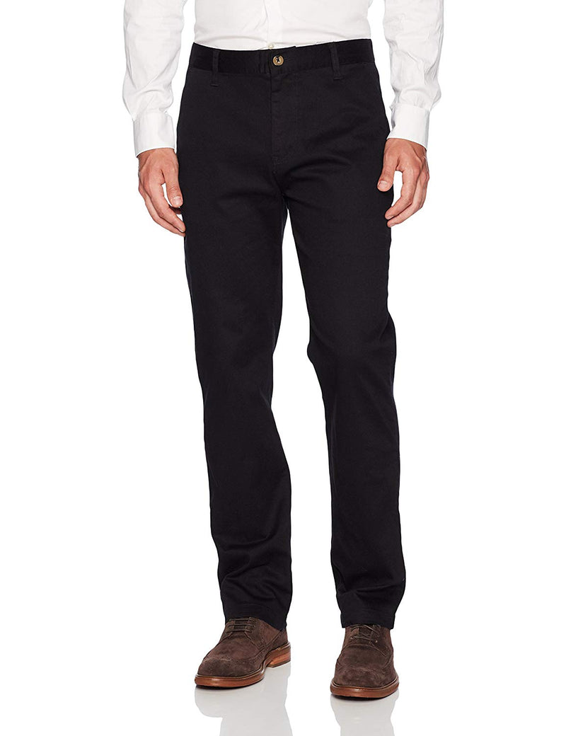 Lee Uniforms Men's Slim Stretch Pant Black