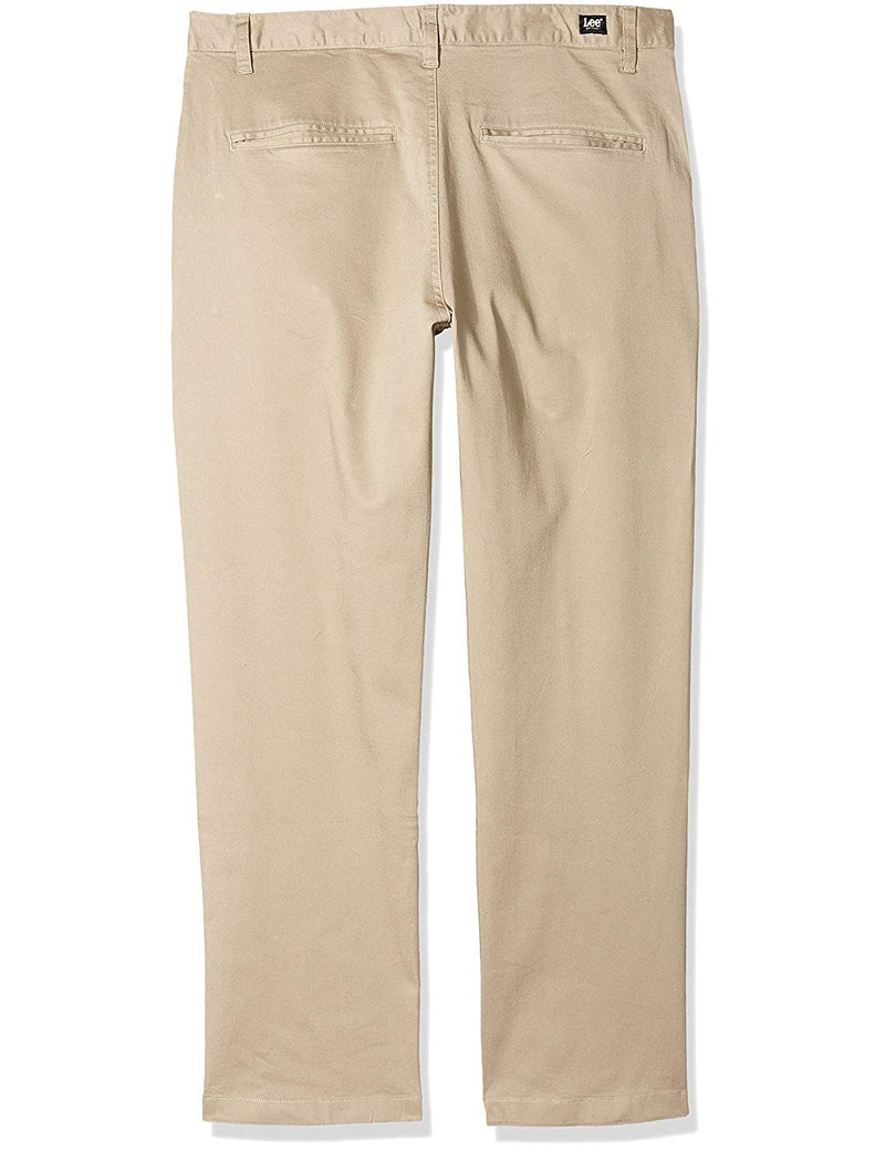 Lee Uniforms Men's Slim Stretch Pant Khaki