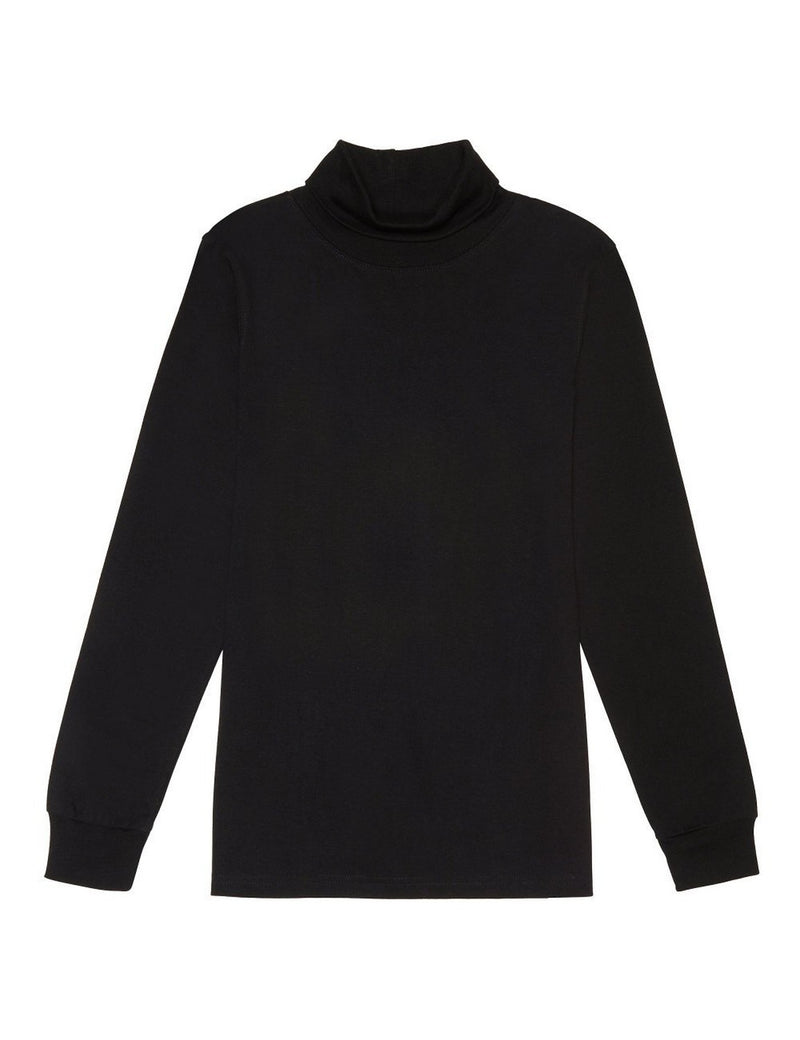 French Toast Boys' Turtleneck Black