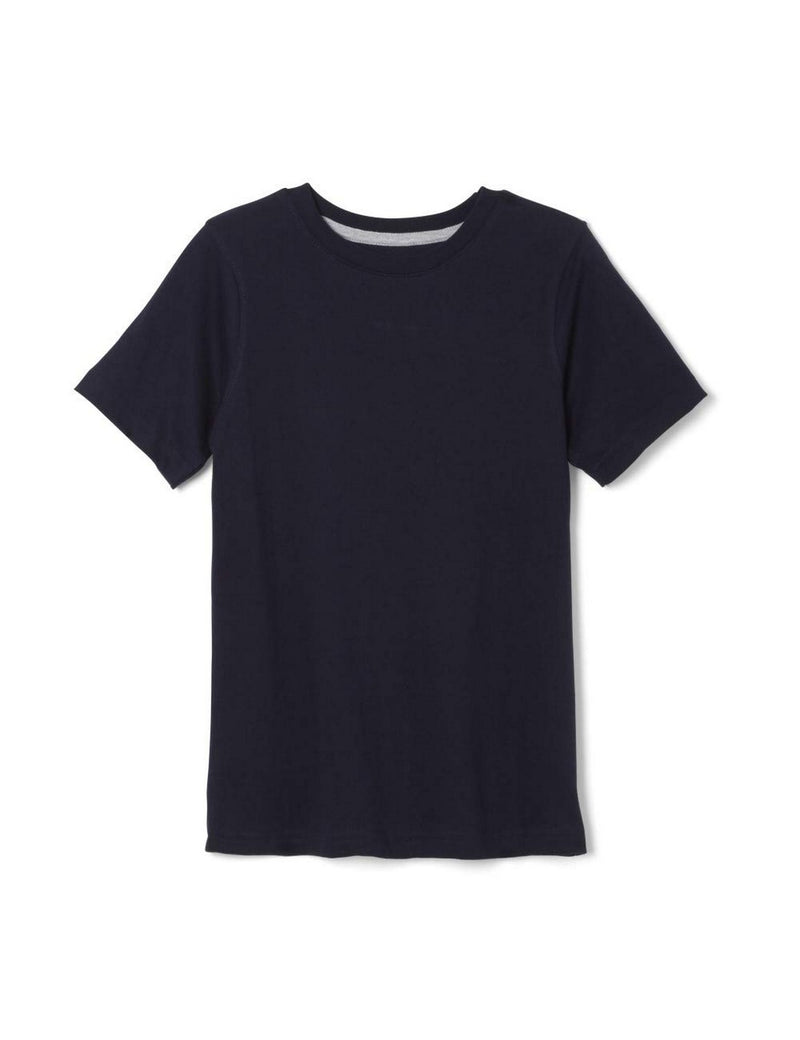 French Toast Boys' Short Sleeve Crewneck Tee  Navy