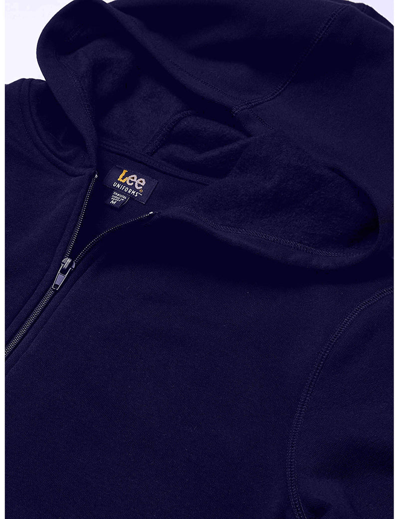 Lee Uniforms Men's Fleece Hoodie Navy