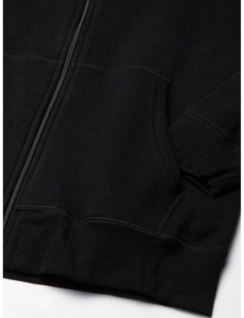 Lee Uniforms Men's Fleece Hoodie Black