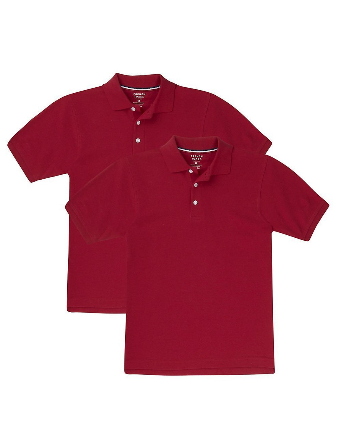 French Toast Boys 2-Pack Short Sleeve Polo