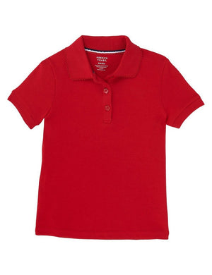 french-toast-girls'-short-sleeve-interlock-polo-with-picot-collar
