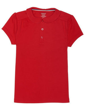 french-toast-girls'-short-sleeve-peter-pan-collar-polo