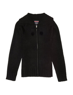 french-toast-girls'-pom-pom-zip-up-sweater
