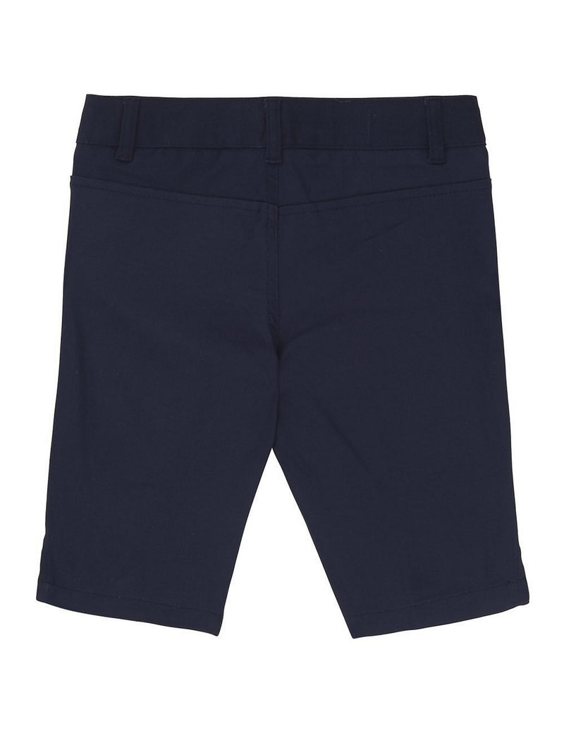 French Toast Girls' Twill Bermuda Short Navy