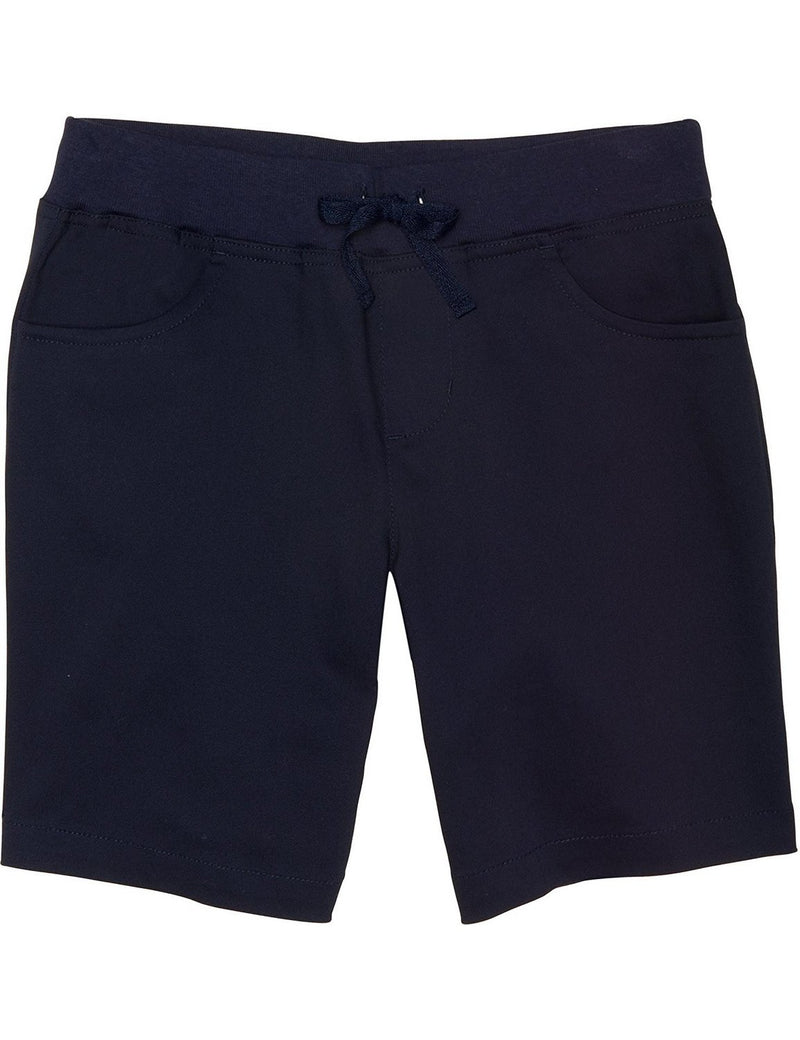 French Toast Girls' Pull-On Tie-Front Short Navy