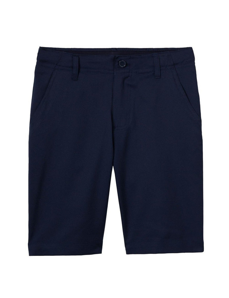 French Toast Boys' Flat Front Performance Stretch Short Navy