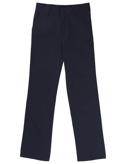 French Toast Adjustable Waist Double Knee Pant Navy