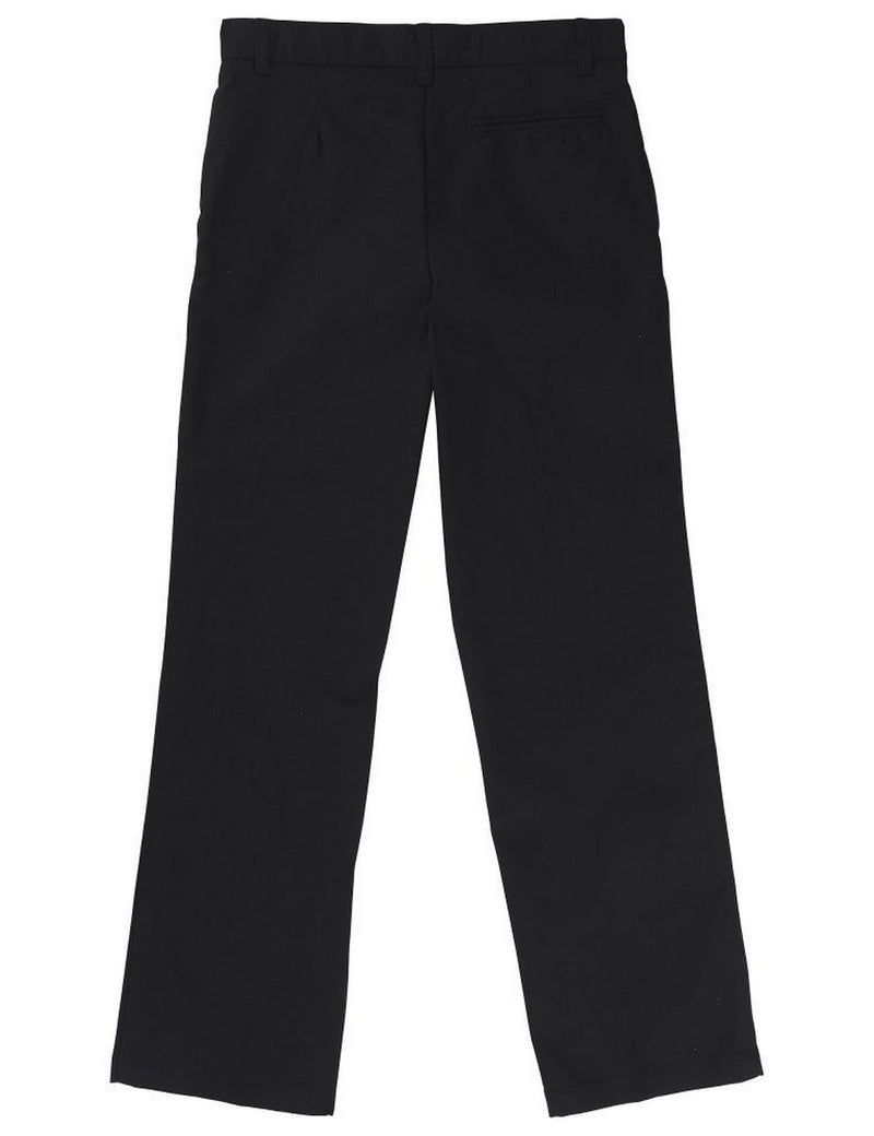 French Toast Adjustable Waist Double Knee Pant Black