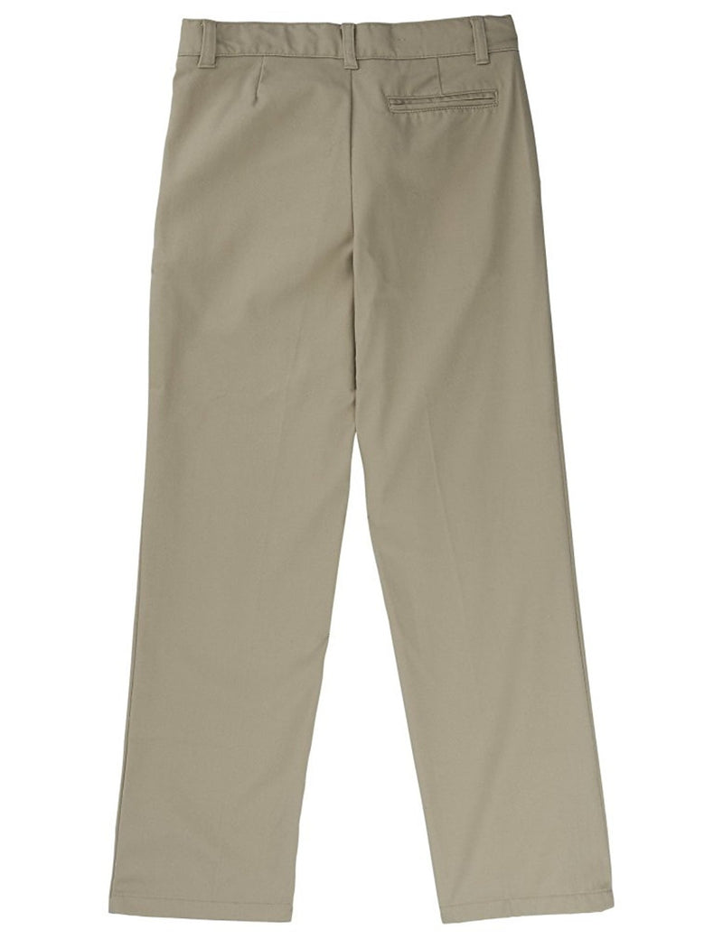 French Toast Adjustable Waist Double Knee Pant Khaki