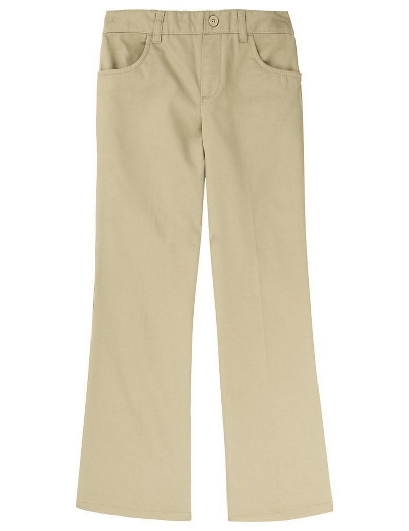 French Toast Girls' Pull-On Pant Khaki